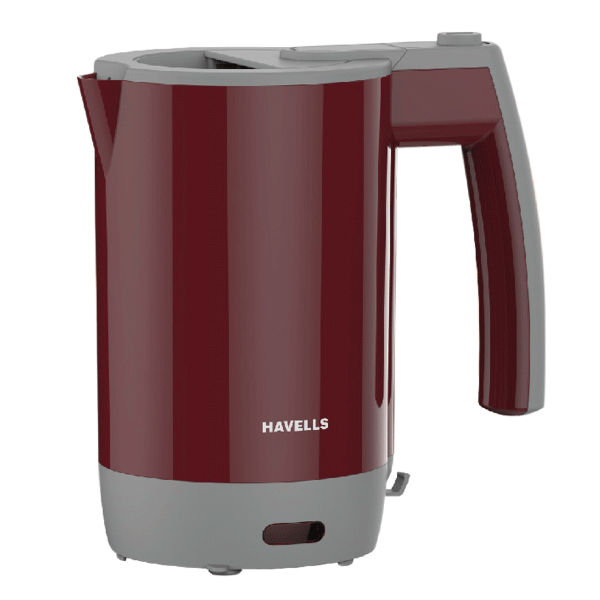 Havells Travel Lite - 0.5 Ltr Kettle Maroon (GHBKTAIM100)