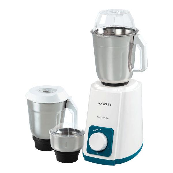Havells Supermix 500 W Mixer Grinder (GHFMGAMQ050)