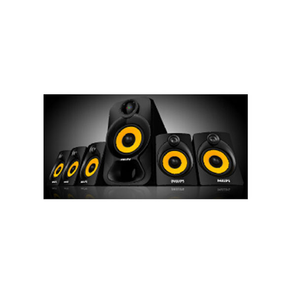 Philips SPA 3800 B Heart Beat Home Theater System (SPA3800B ) (Unboxed)