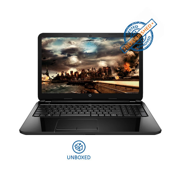 HP 15-ac184tu Notebook (T0X61PA) (5th Gen Intel Core i3- 4GB RAM- 1TB HDD- 39.62 cm (15.6)- DOS) (Jack Black) (Unboxed)