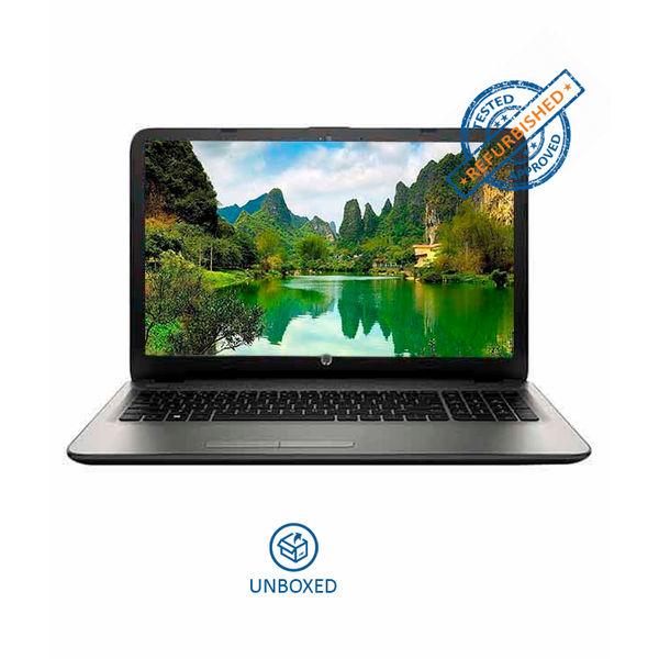 HP 15-BA025AU Notebook (X5Q25PA) (AMD Quad Core A6- 4GB RAM- 500GB HDD- 39.62 cm (15.6)- DOS) (Silver) (Unboxed)