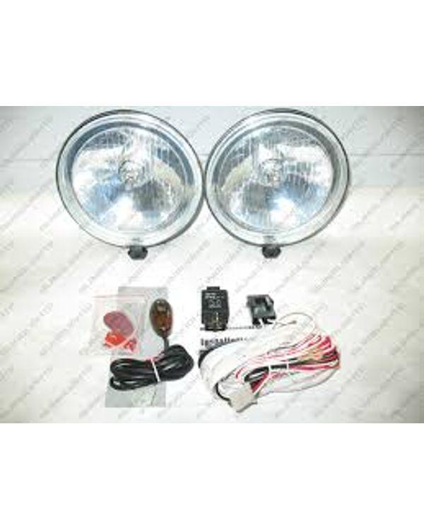 Uno Minda Fog Lamp Kit (With Wiring & Switch) for Maruti Ritz on