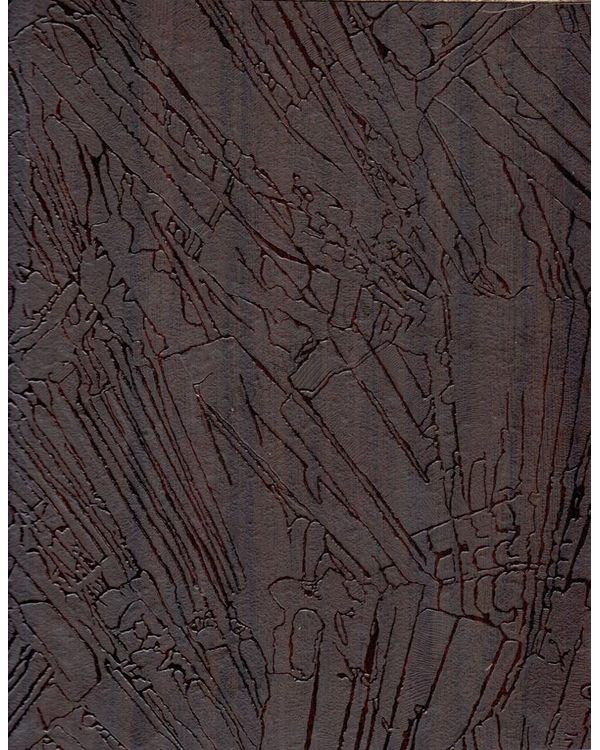 92866 Es 1.0 Mm Cedarlam Laminates Wajir Walnut (Excavated Stones)