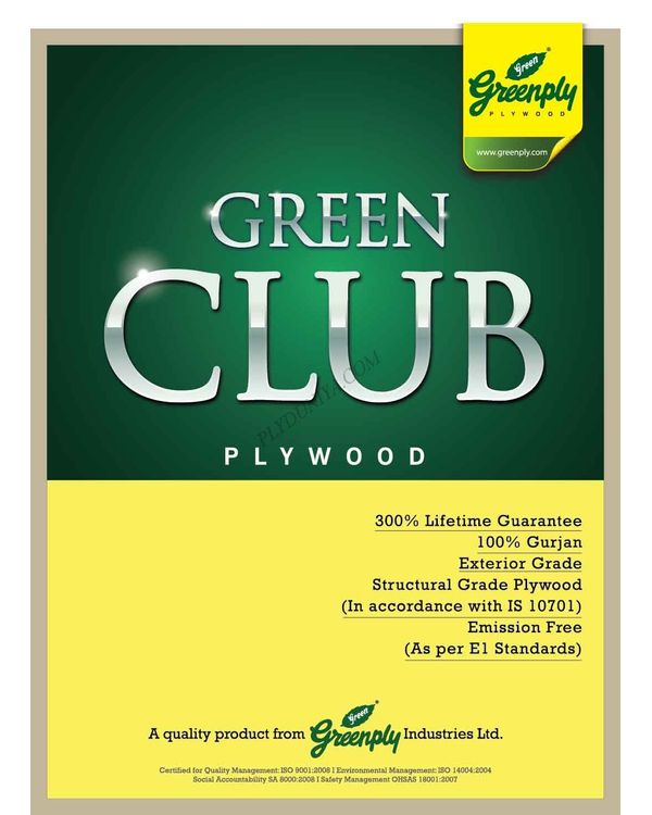 Greenply Club Plywood  Thickness 15 Mm Plywood