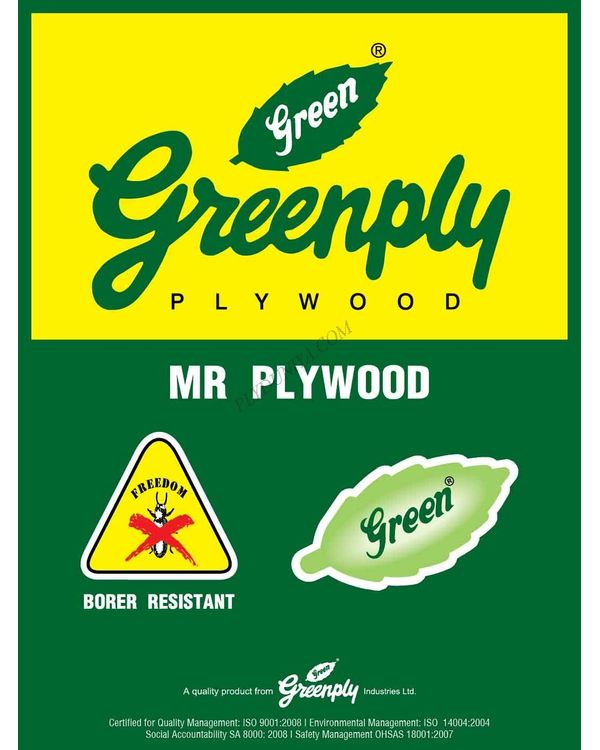Greenply Ecotec Mr Grade (Commercial) Plywood  Thickness 9 Mm Plywood