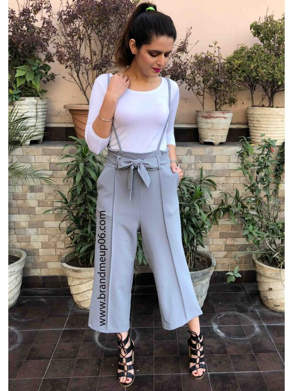 a79d83e1461 Suspender Pants (Without Tshirt)(Grey)