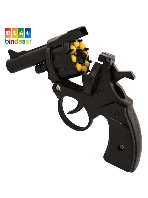 Deal Bindaas Phattka Toy Gun Diwali Shots Black | Lw-bs050