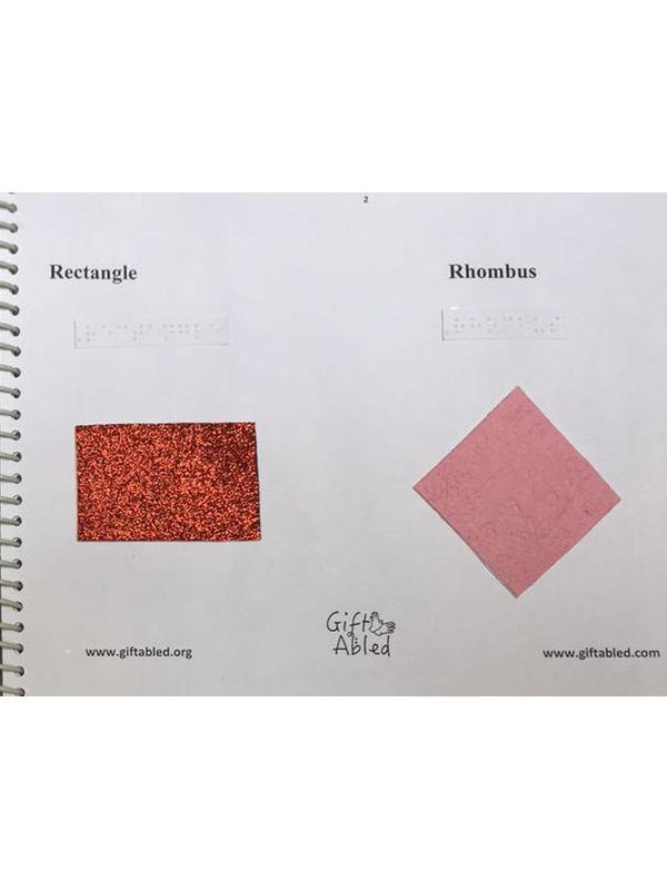 Tactile Shape Book