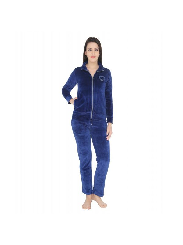 Cozy Navy Blue nightsuit