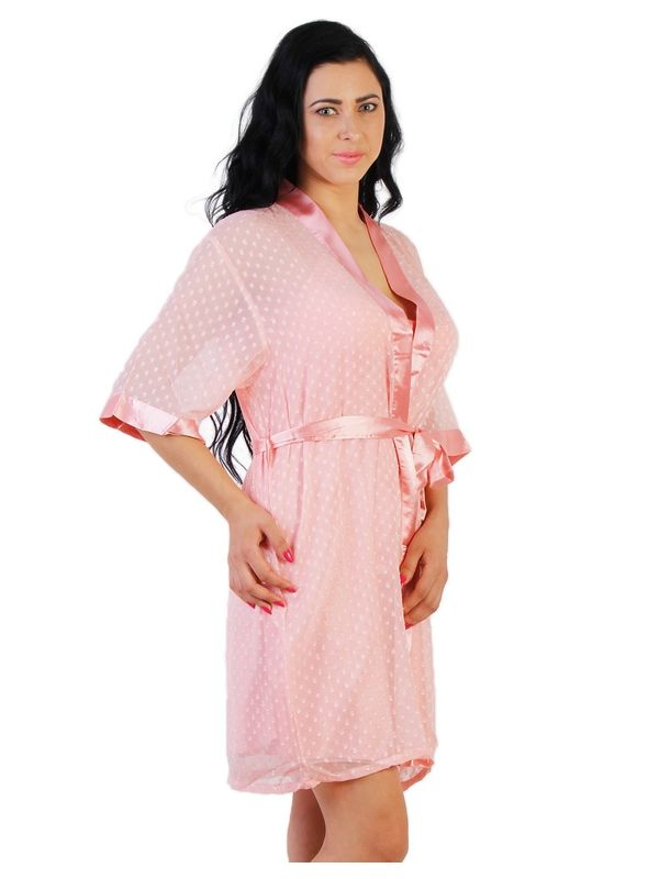 Baby Pink Satin Gown