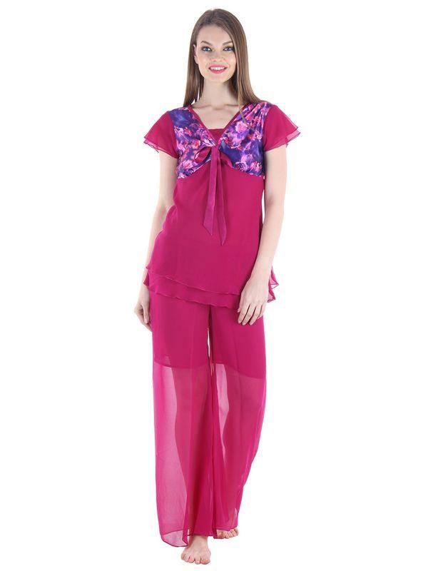 Purple Top & Pajama Set