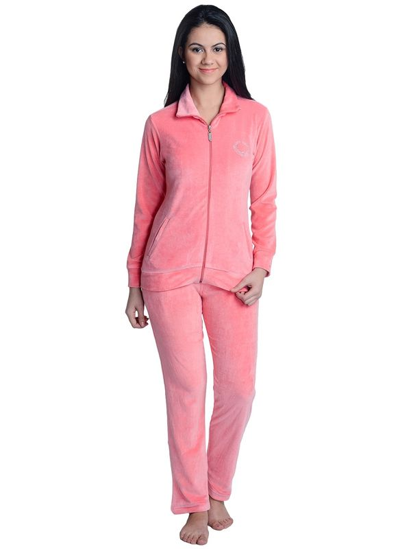 Pajama Set in Peach Color