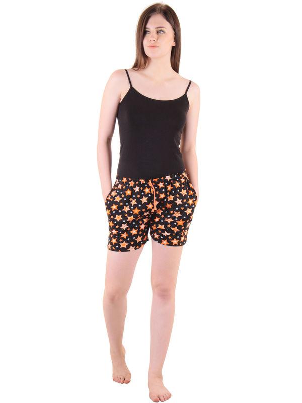 Orange Hosiery Shorts