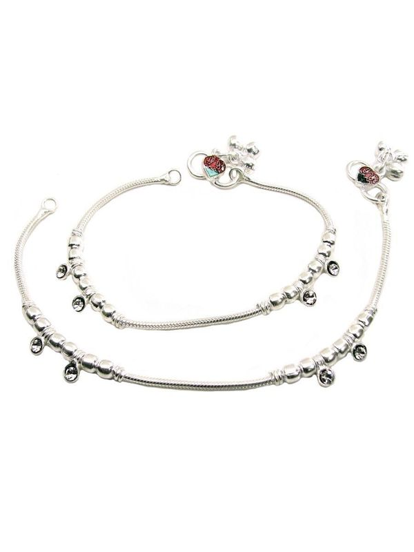 meekcat heart bell real item the anklet ankle anklets romantic for bracelets charm silver plated women bracelet on leg