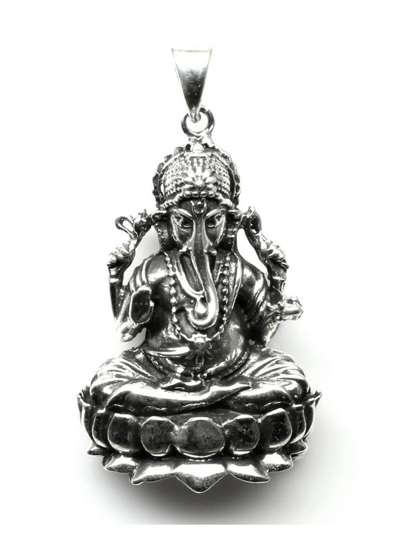 7cc7530bd ... Sterling Silver religious Ganesh God Pendant. Zoom. sold-out-image