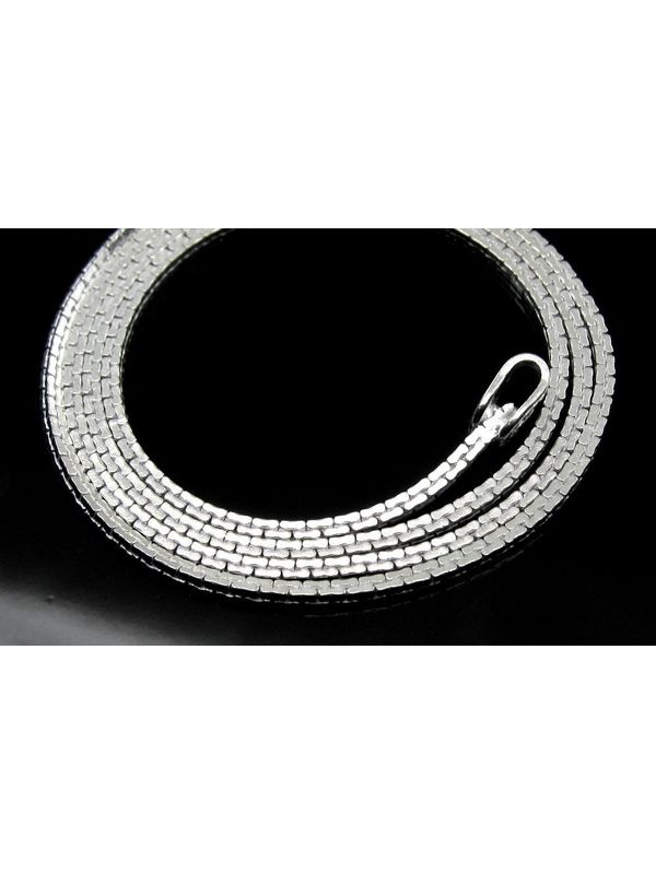 necklace italy wheat rope solid o chain silver pure sterling chains new spiga itm wholesale