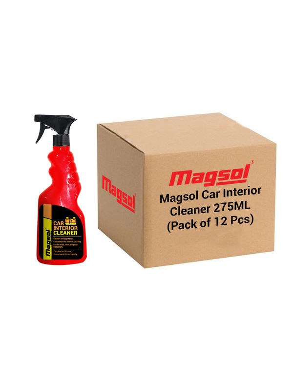 Magsol Car Interior Cleaner 275 Ml Pack (Pack of 12)