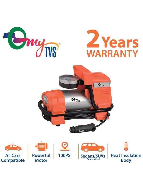myTVS TI-4 Car Heavy Duty Tyre Inflator