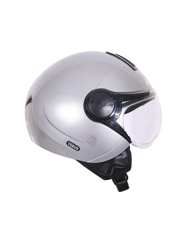 075f2768 ... Vega Verve Silver Helmet Pack of 3