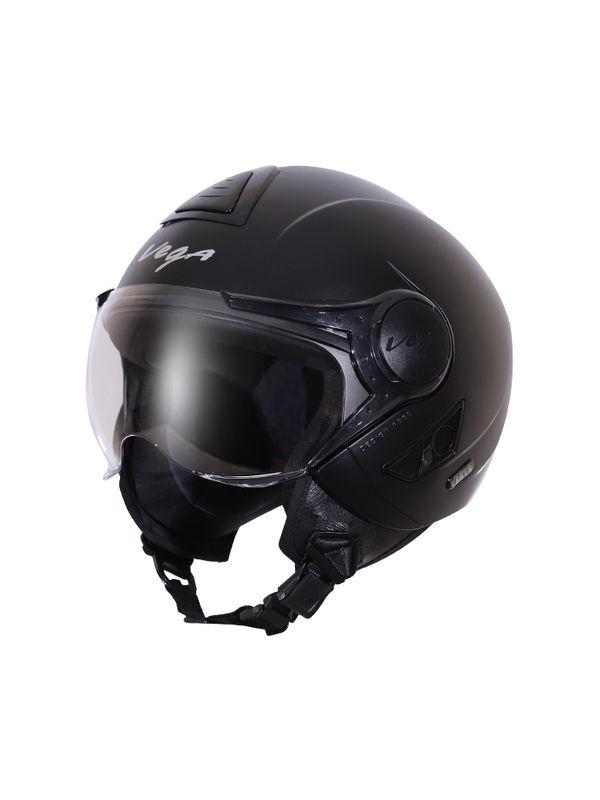 f1d3e955 Vega Verve Dull Black Helmet | 1-vrv-dks