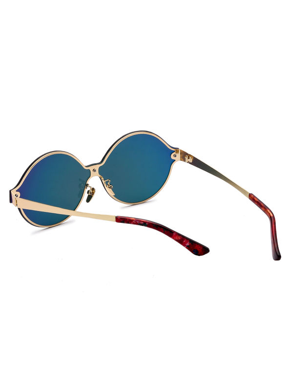 7be0fd02f6a Red Lens Round Design Sunglasses