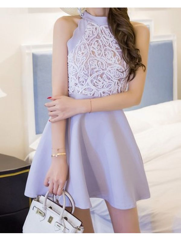 Sexy Off Shoulder Beautiful Embroidered Mini Dress