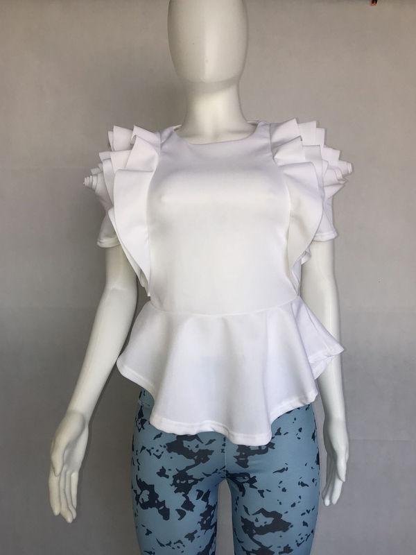 Fashion Ruffle Sleeve