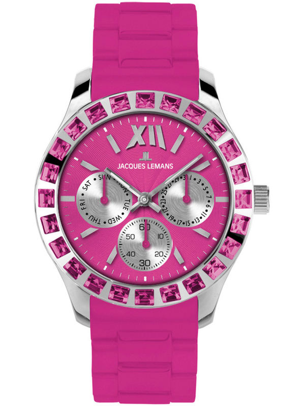Jacques Lemans-1-1627I  Analog Multifunction Ladies Watch