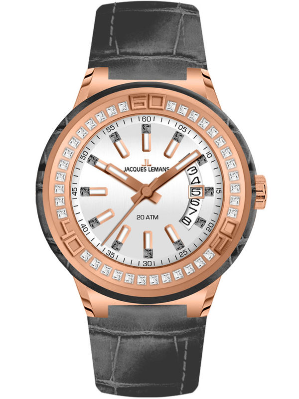 Jacques Lemans-1-1776D Analog Ladies Watch