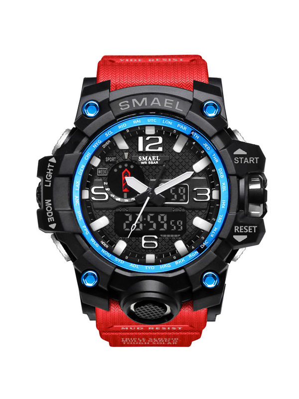 OVERFLY-SMAEL-1545 Analog-Digital Chronograph Sports Watch For-Men