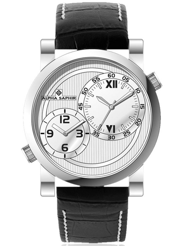 Jacques Lemans-363B Analog Dual Time  Mens Watch