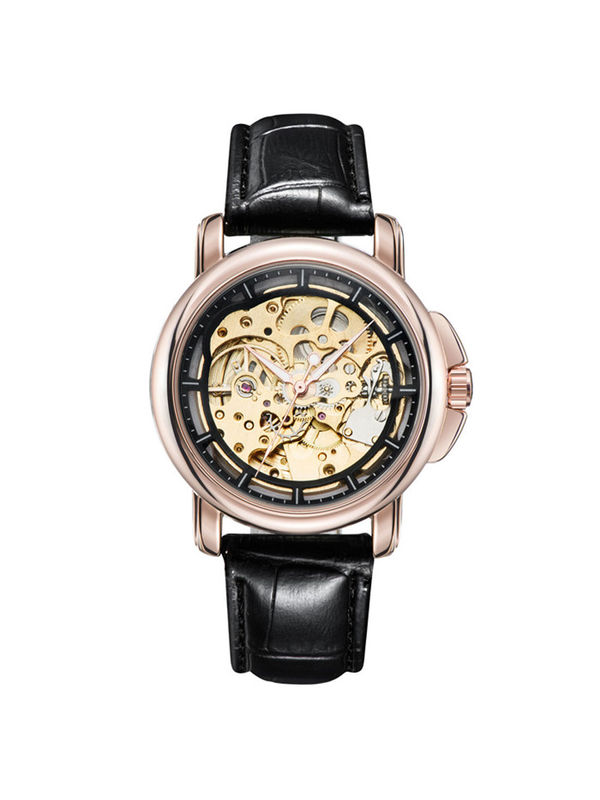 Tevise-8368-A Gold Luxury Automatic  watch For -Men