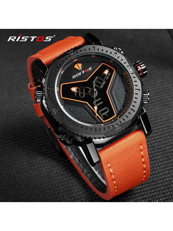 RISTOS-9341 Analog-Digital Chronograph Watch For-Men