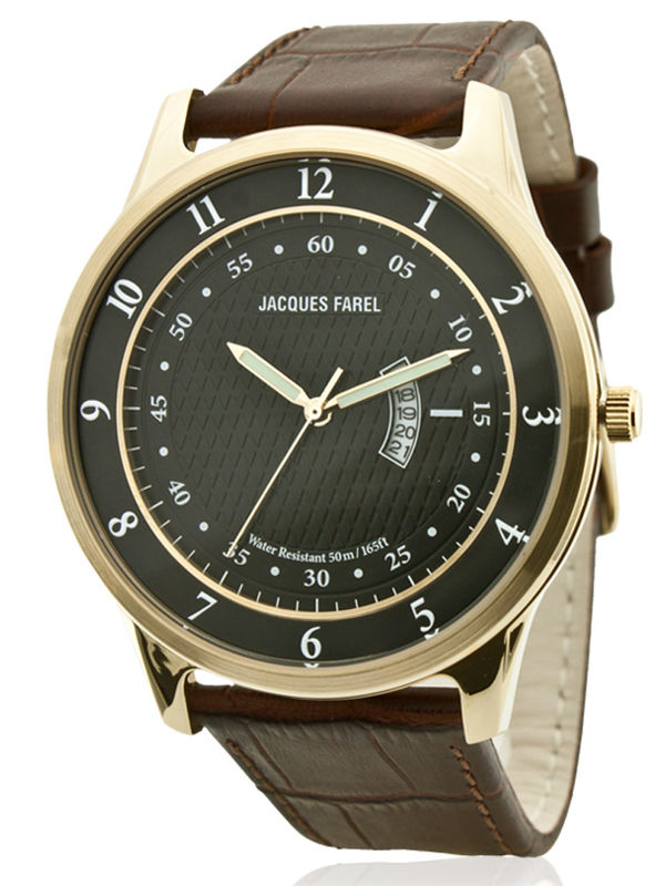 Jacques Farel-ALS5276 Analog Mens Watch