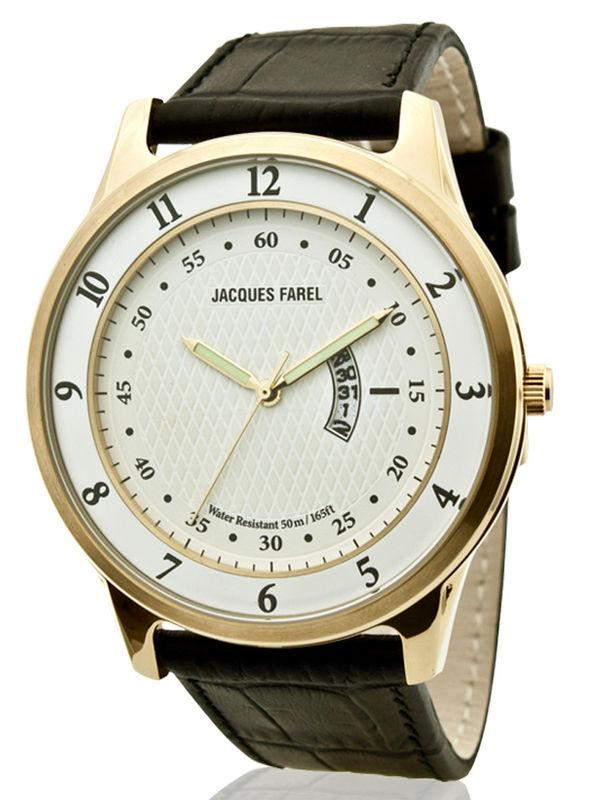 Jacques Farel-ASL7456 Analog Mens Watch