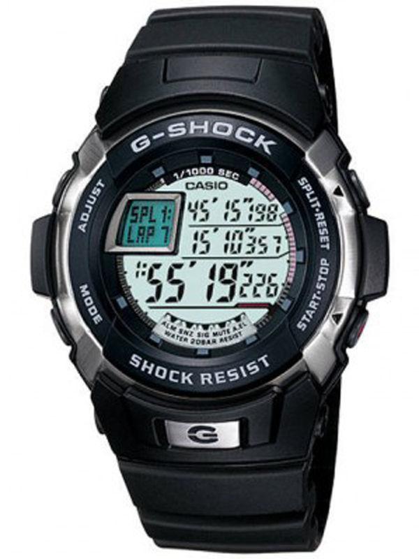 Casio-G222 G-SHOCK Digital Multifunction Mens Watch