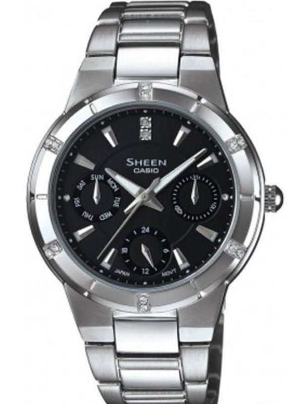 Casio-SX041 SHEEN Analog Multifunction Ladies Watch
