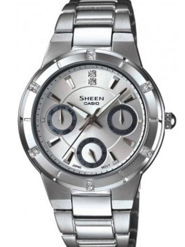 Casio-SX042 SHEEN Analog Multifunction Ladies Watch