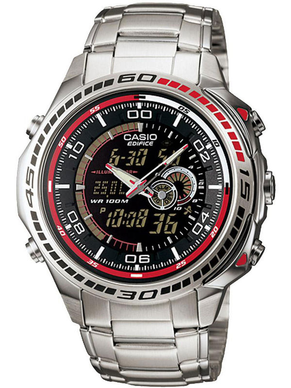 888c8ad2d50 sold-out-image Casio Edifice ED-263 Edifice Analog-Digital Multifunction  Mens Watch