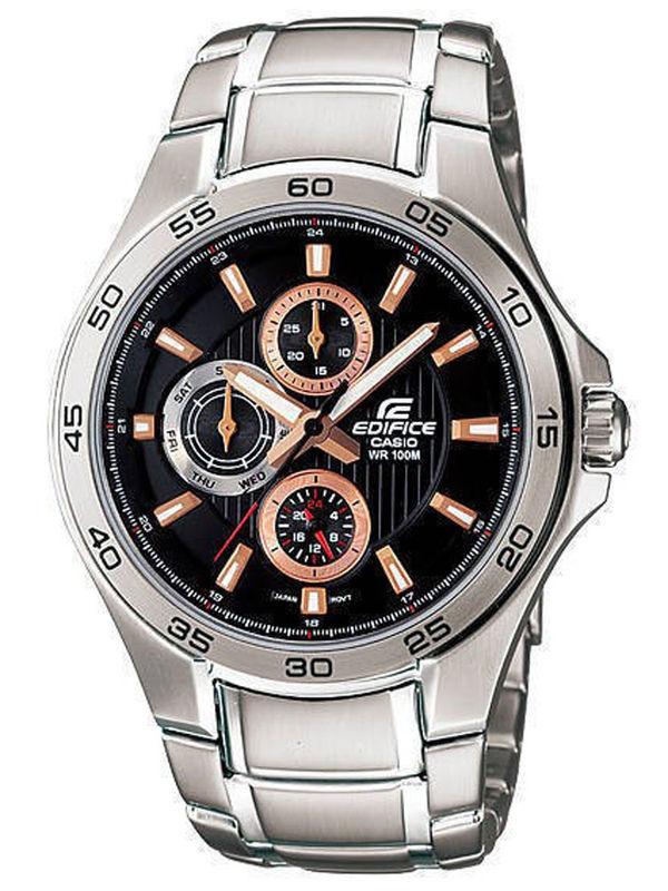 0f44ed1fbd0 Casio Edifice Ed-423 Edifice Analog Multifunction Mens Watch