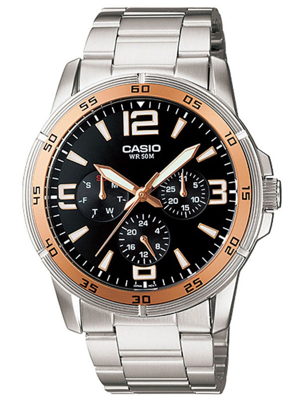 Casio Enticer A-479 Analog Multifunction Mens  Watch
