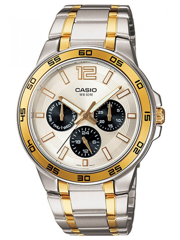 Casio Enticer A-486 Analog Multifunction Mens  Watch