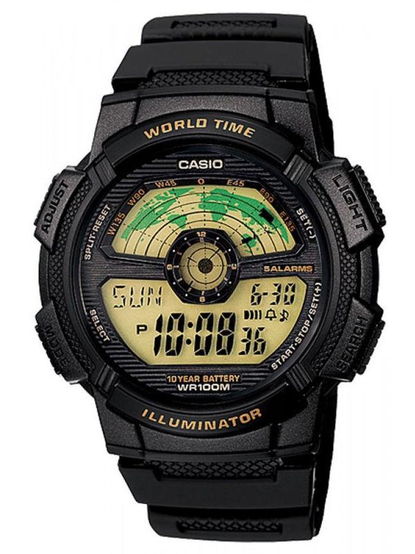 Casio Enticer  D-086 Digital Multifunction  Mens  Watch