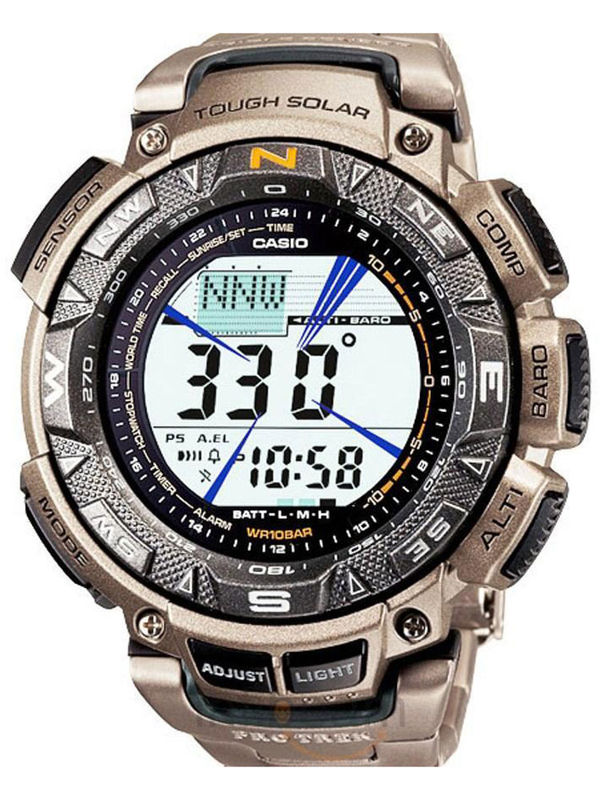 Casio Protrek SL-49 Digital Multifunction  Mens  Watch