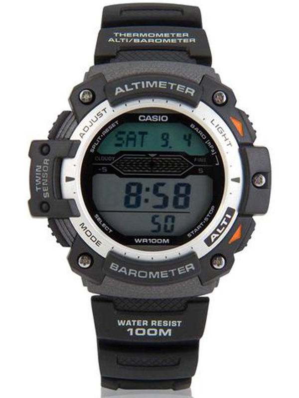 Casio S-059 Digital Multifunction  Mens  Watch