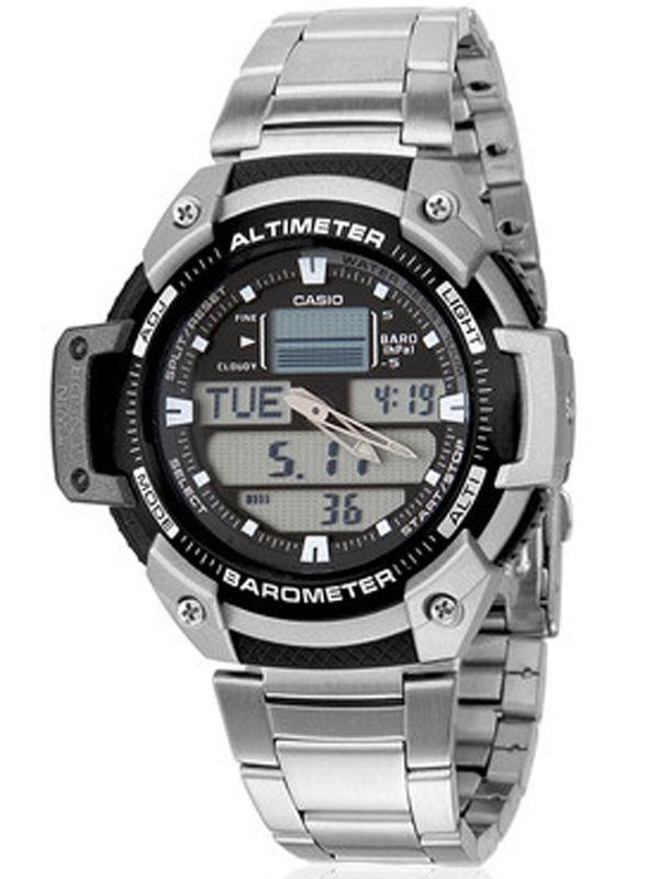 Casio AD-166 Analog-Digital Multifunction  Mens  Watch
