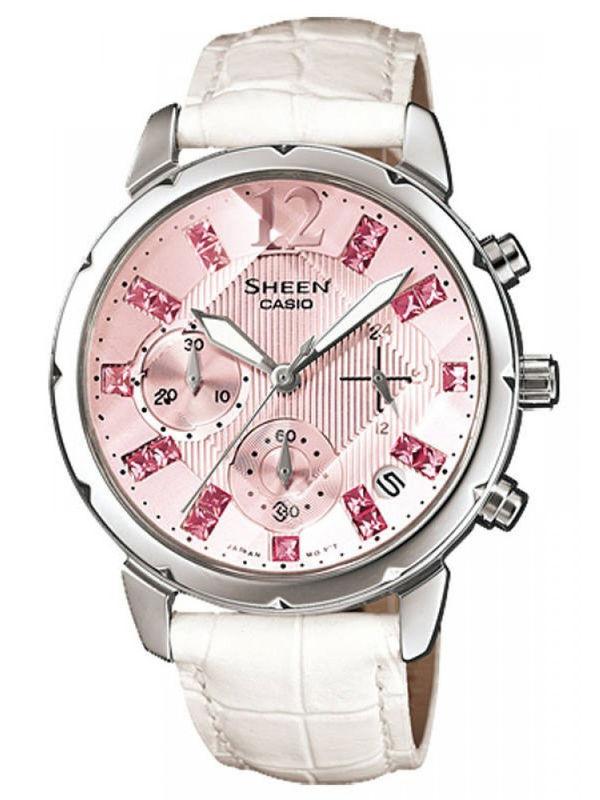 Casio Sheen SH-183 Analog Chronograph  Ladies  Watch