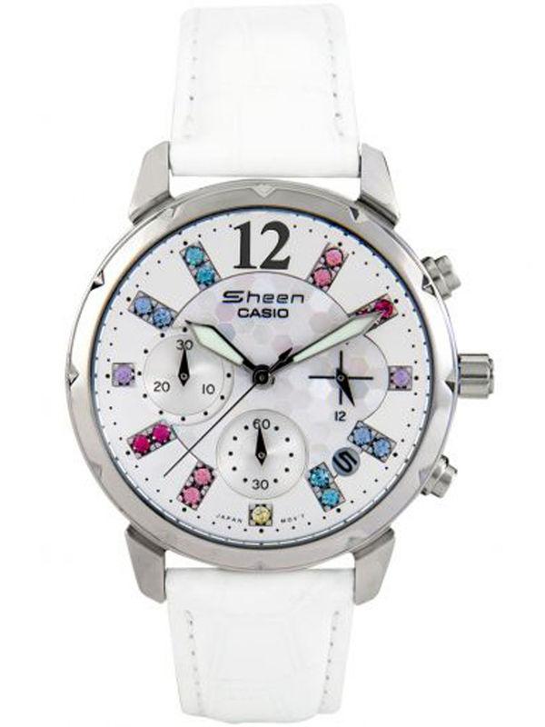Casio Sheen SH-161 Analog Chronograph  Ladies  Watch
