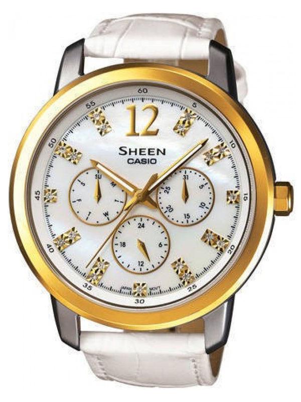 Casio Sheen SX-048 Analog Multifunction  Ladies  Watch