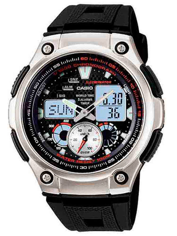 Casio  AD-176 Analog-Digital Multifunction  Mens  Watch